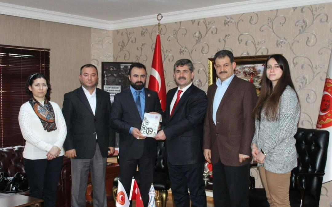 Türkiye Gaziler Ve Şehit Aileleri Vakfı Ziyaretimiz